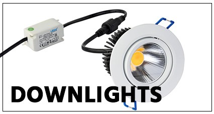 EE-LED Downlights einstellbar